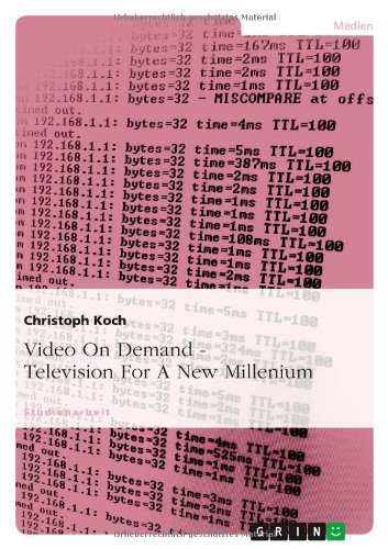 9783638756426: Video On Demand - Television For A New Millenium