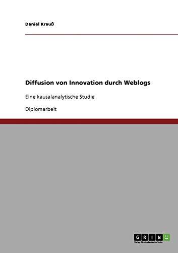 Diffusion Von Innovation Durch Weblogs: Daniel Krauss