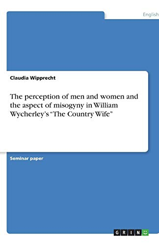 The perception of men and women and: Wipprecht, Claudia