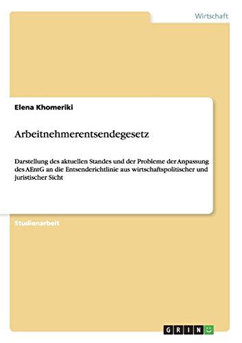Arbeitnehmerentsendegesetz: Elena Khomeriki