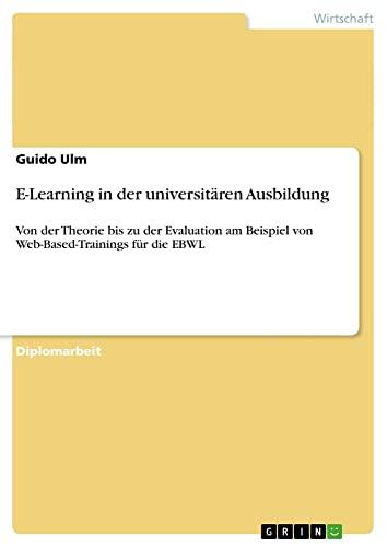 E-Learning in der universitären Ausbildung: Guido Ulm