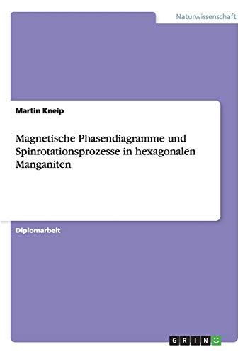 Magnetische Phasendiagramme Und Spinrotationsprozesse in Hexagonalen Manganiten: Martin Kneip