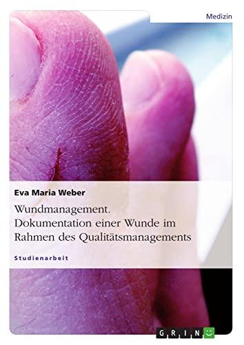 9783638937672: Wundmanagement. Dokumentation Einer Wunde Im Rahmen Des Qualitatsmanagements. (German Edition)