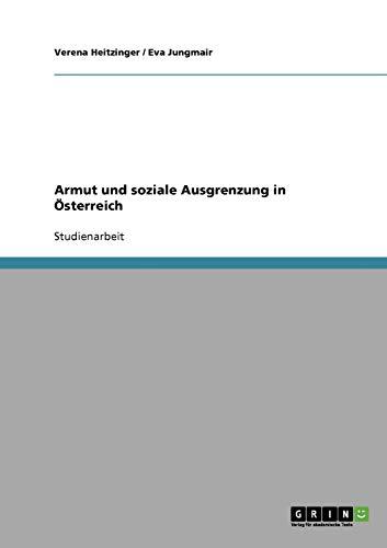 9783638942430: Armut und soziale Ausgrenzung in Österreich