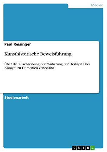 Kunsthistorische Beweisfuhrung: Paul Reisinger
