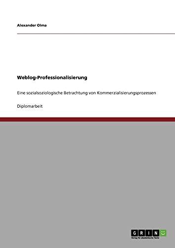 Weblog-Professionalisierung: Alexander Olma