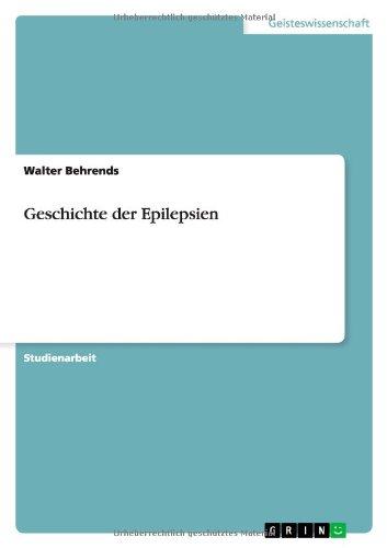 Geschichte Der Epilepsien: Bastian Hillebrand