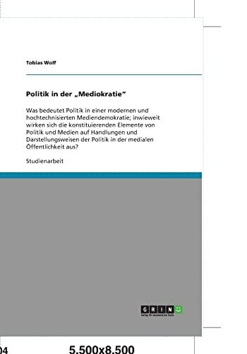 """Politik in Der """"Mediokratie"""": Tobias Wolf"""