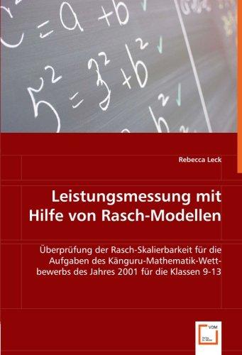 Leistungsmessung mit Hilfe von Rasch-Modellen: Rebecca Leck