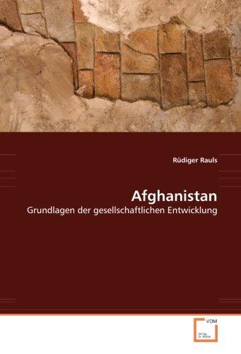 9783639014112: Afghanistan: Grundlagen der gesellschaftlichen Entwicklung