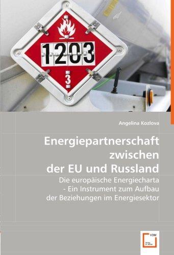 Energiepartnerschaft zwischen der EU und Russland: Angelina Kozlova