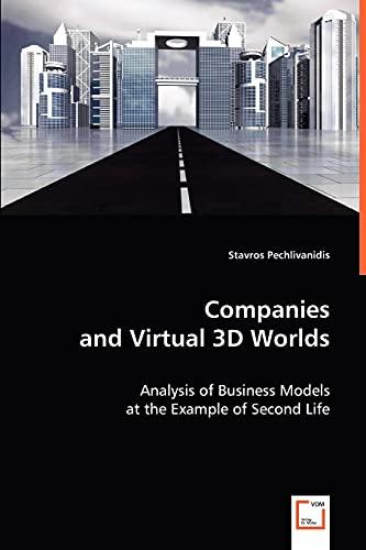Companies and Virtual 3D Worlds: Stavros Pechlivanidis
