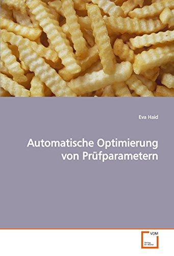 9783639020632: Automatische Optimierung von Prüfparametern (German Edition)