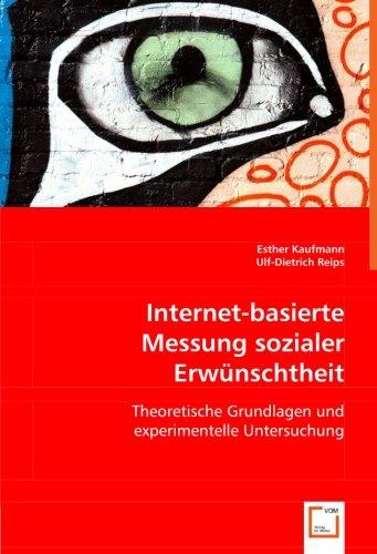 Internet-basierte Messung sozialer Erwünschtheit: Esther Kaufmann