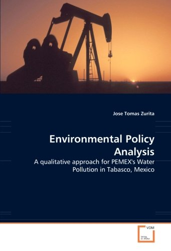 9783639025958: Environmental Policy Analysis