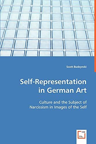 9783639026696: Self-Representation in German Art