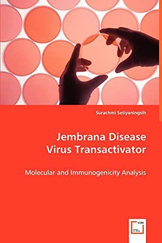 9783639035049: Jembrana Disease Virus Transactivator