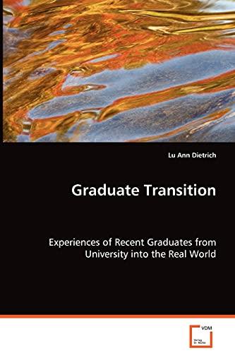 Graduate Transition: Lu Ann Dietrich