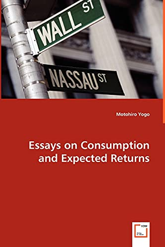 9783639068566: Essays on Consumption and Expected Returns