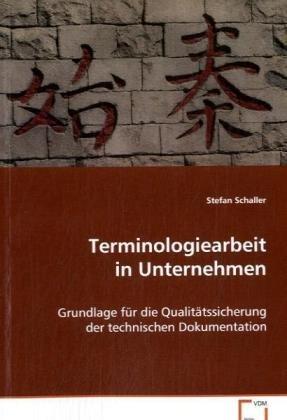 Terminologiearbeit in Unternehmen: Stefan Schaller