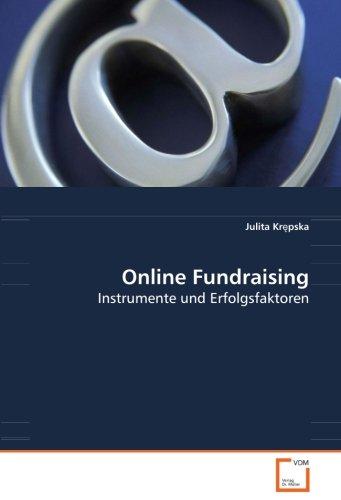 9783639083392: Online Fundraising: Instrumente und Erfolgsfaktoren