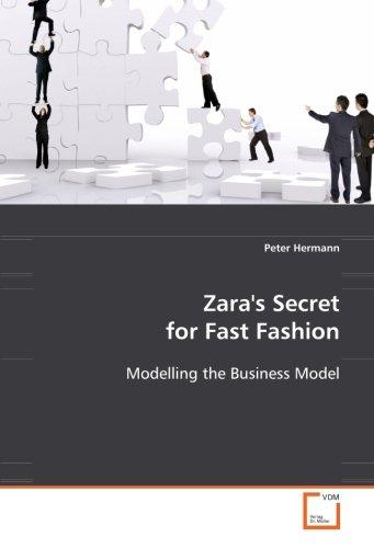 9783639085853: Zara''s Secret for Fast Fashion: Modelling the Business Model