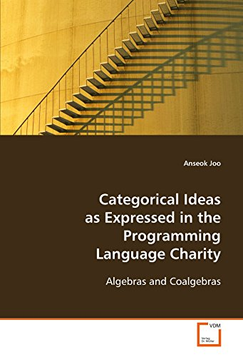 9783639093858: Categorical Ideas As Expressed in the Programming Language Charity: Algebras and Coalgebras