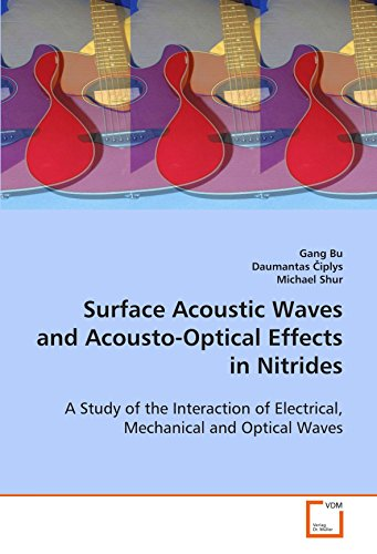 Surface Acoustic Waves and Acousto-Optical Effects in Nitrides: A Study of the Interaction of ...