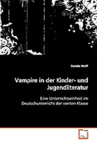 Vampire in der Kinder- und Jugendliteratur: Daniela Wolff