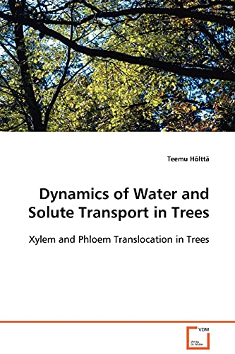Dynamics of Water and Solute Transport in: Hà lttä, Teemu