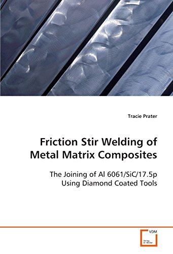 9783639103892: Friction Stir Welding of Metal Matrix Composites: The Joining of Al 6061/SiC/17.5p Using Diamond Coated Tools