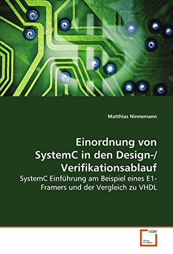 Einordnung von SystemC in den Design-/Verifikationsablauf: Matthias Ninnemann