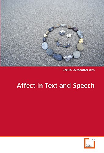 9783639111484: Affect in Text and Speech