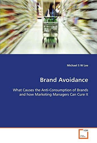 9783639123692: Brand Avoidance: What Causes the Anti-Consumption of Brands and how Marketing Managers Can Cure It