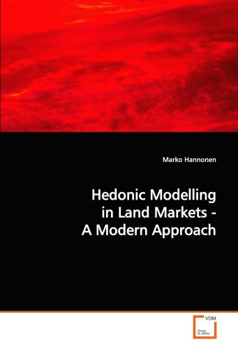 9783639125986: Hedonic Modelling in Land Markets - A Modern Approach
