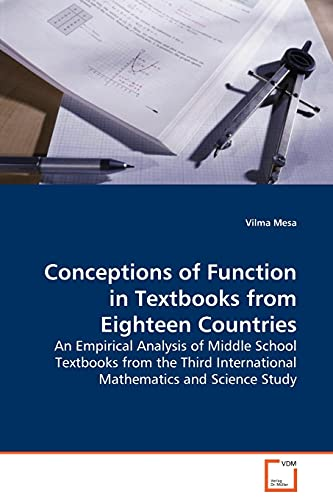 9783639131475: Conceptions of Function in Textbooks from Eighteen Countries: An Empirical Analysis of Middle School Textbooks from the Third International Mathematics and Science Study