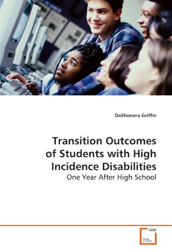 9783639143706: Transition Outcomes of Students with High Incidence Disabilities: One Year After High School