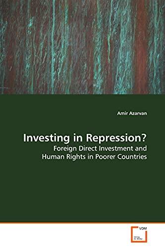 Investing in Repression?: Amir Azarvan