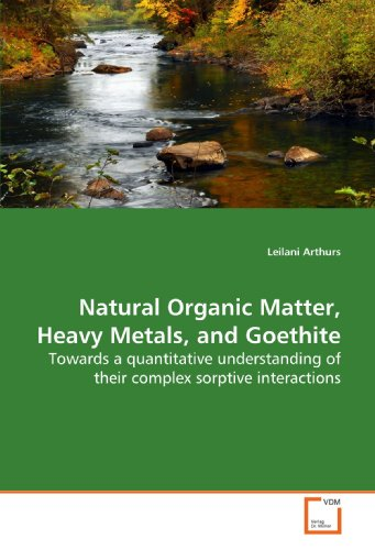 9783639149746: Natural Organic Matter, Heavy Metals, and Goethite: Towards a quantitative understanding of their complex sorptive interactions
