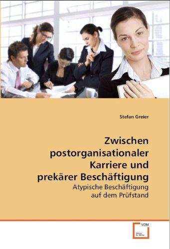 Zwischen postorganisationaler Karriere und prekärer Beschäftigung: Stefan Greier