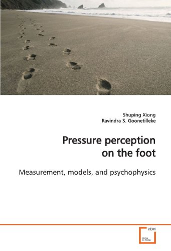 Pressure perception on the foot