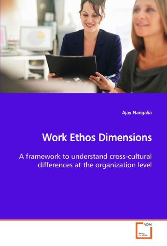 9783639162271: Work Ethos Dimensions: A framework to understand cross-cultural differences at the organization level