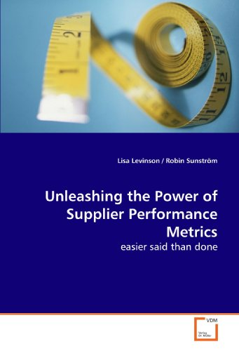 Unleashing the Power of Supplier Performance Metrics: Lisa Levinson