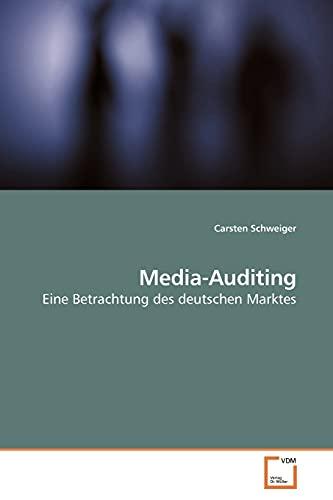 9783639163544: Media-Auditing