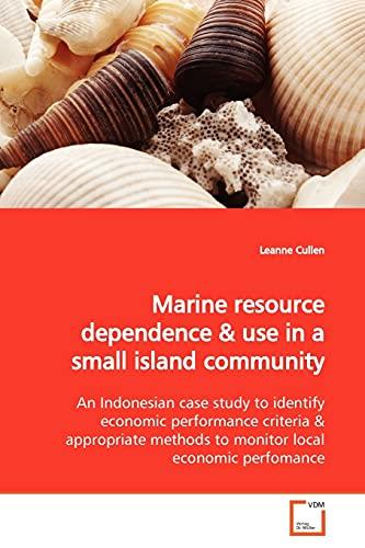 Marine Resource Dependence: Leanne Cullen