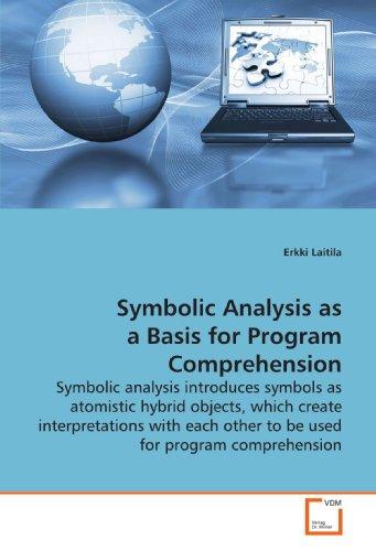 9783639168334: Symbolic Analysis as a Basis for Program Comprehension