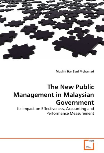 9783639168464: The New Public Management in Malaysian Government: Its impact on Effectiveness, Accounting and Performance Measurement