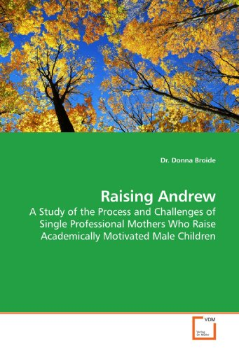 9783639181784: Raising Andrew: A Study of the Process and Challenges of Single Professional Mothers Who Raise Academically Motivated Male Children