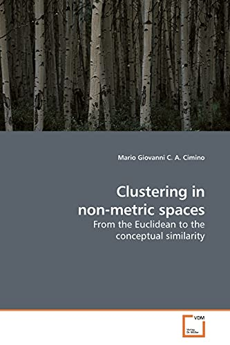 9783639187496: Clustering in non-metric spaces: From the Euclidean to the conceptual similarity