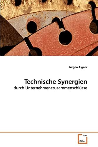 9783639191448: Technische Synergien: durch Unternehmenszusammenschlüsse (German Edition)
